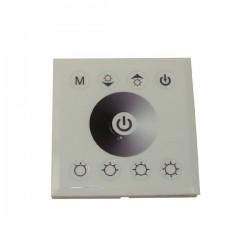 Ściemniacz LED ścienny 8A 12-24V biały