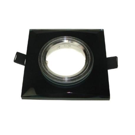 Oprawa szklana GU10/MR16 lustro + gniazdo