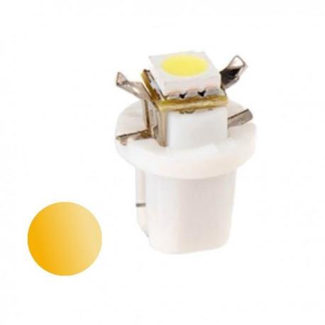 Żarówka Led R5 z cokołem SMD 5050 12V żółta