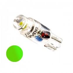 Żarówka Led R5 walcowa 12V zielona