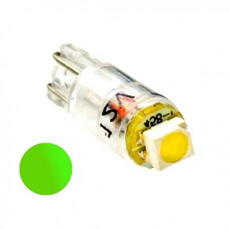 Żarówka Led R5 SMD 3528 12V zielona