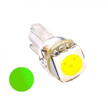 Żarówka Led R7 1x SMD 5050 12V zielona
