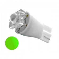 Żarówka Led R10 flux 12V zielona