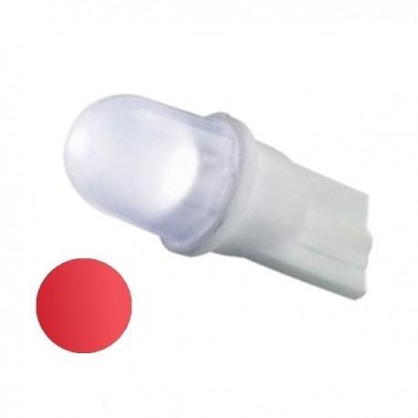 Żarówka Led R10 10mm dyfuzyjna 12V czerwona