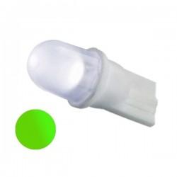 Żarówka Led R10 10mm dyfuzyjna 12V zielona