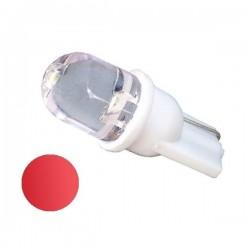 Żarówka Led R10 10mm 12V czerwona