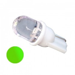 Żarówka Led R10 10mm 12V zielona