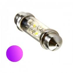 Żarówka Led 10x36 6x 3mm 12V UV