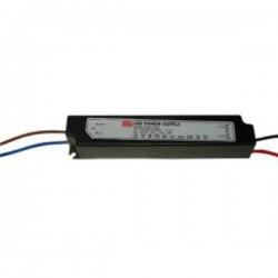 Zasilacz hermetyczny czarny plastik 20W IP67 12V