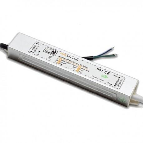 Zasilacz impulsowy hermetyczny MPL 20W 1,6A IP67 12V