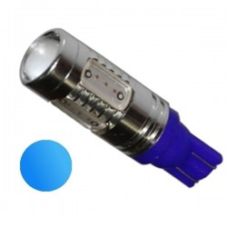Żarówka LED R10 5x COB 12V niebieska