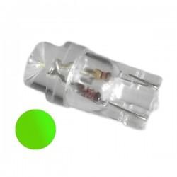 Żarówka Led R10 walcowa 24V zielona