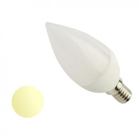 Żarówka Led E14 4W Świeczka 230V biała ciepła