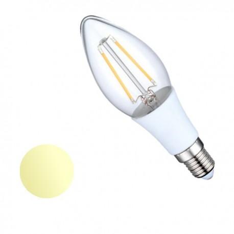 Żarówka Led E14 2W Filament 230V biała ciepła