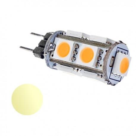 Żarówka Led G4 1W 9x SMD 5050 biała ciepła 12V