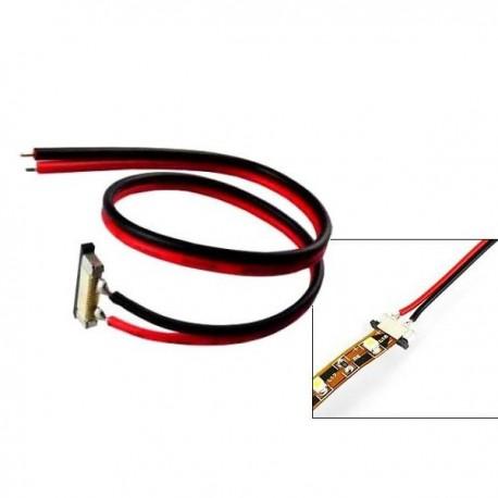 Złącze SMD pojedyńcze do taśmy Led 8mm z przewodem