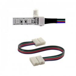Złącze RGB 4PIN-4PIN z przewodem klips