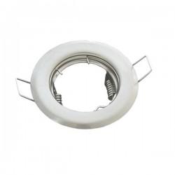 Oprawa żarówki GU10 / MR16 stała biała mat