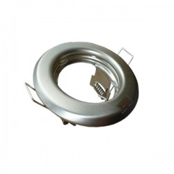 Oprawa żarówki GU10 / MR16 stała chrom mat