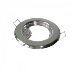 Oprawa żarówki GU10 / MR16 stała chrom