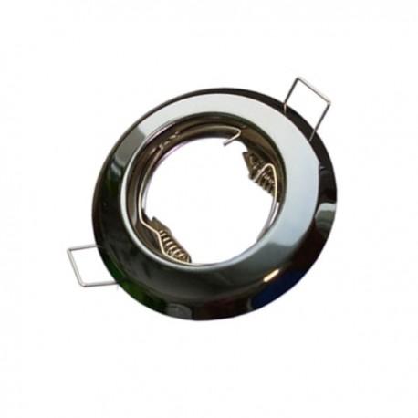 Oprawa żarówki GU10 / MR16 stała grafit