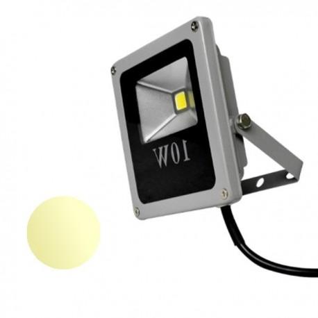 Naświetlacz Led 10W Slim 230V biały ciepły