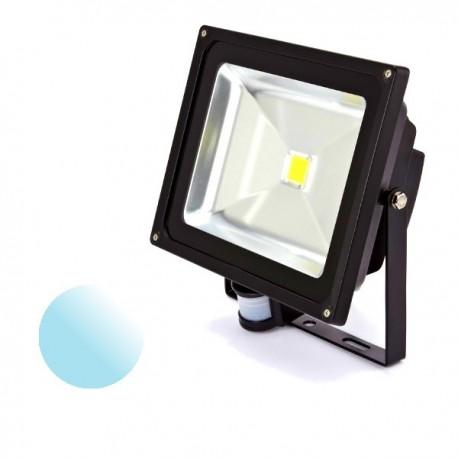 Naświetlacz Led 50W PIR 230V biały zimny