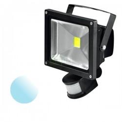 Naświetlacz Led 30W PIR 230V biały zimny