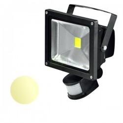 Naświetlacz Led 30W PIR 230V biały ciepły