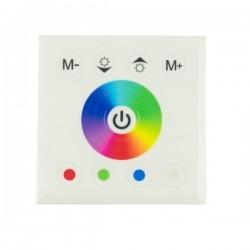 Sterownik RGBW ścienny dotykowy Touch panel 16A 192W 12-24V biały
