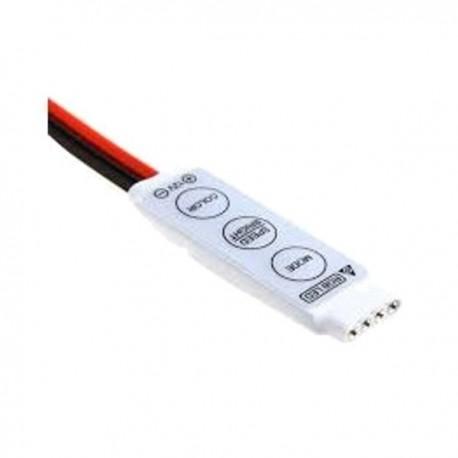 Sterownik RGB z włącznikiem manualny na przewód 6A 72W 12V
