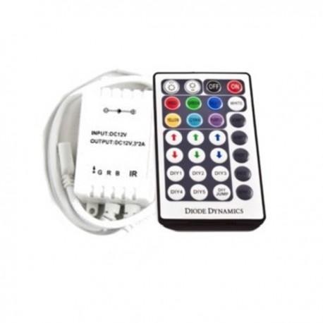 Sterownik RGB radiowy 28 przyciski MINI 6A 72W 12V