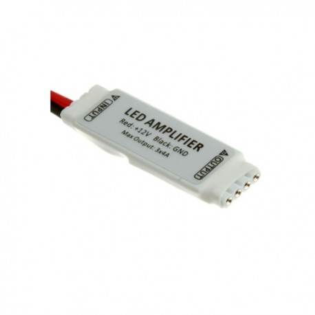 Wzmacniacz sygnału RGB 12A 12V mini