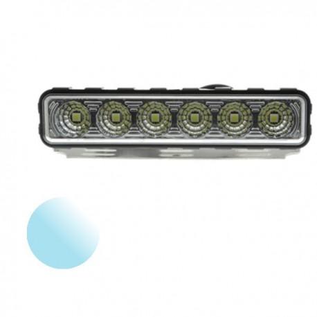 Światło Led 6x SMD 5050 białe zimne 12-24V