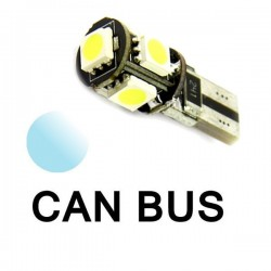 Żarówka Led R10 CANBUS 5x SMD 5050 12V biała