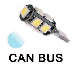 Żarówka Led R10 CANBUS 9x SMD 5050 12V biała
