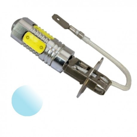 Żarówka Led H3 5x COB 10-30V biała