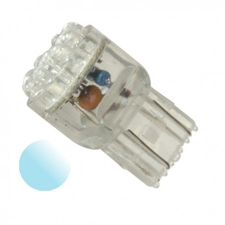 Żarówka Led USA 7440 12x 3mm 12V biała