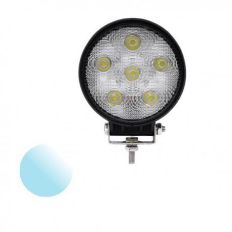 Lampa Led Offroad okrągła KW111 6x 3W 12-24V biała zimna