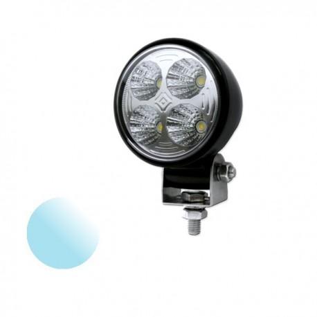 Lampa Led Offroad okrągła KW115 4x 3W 12-24V biała zimna