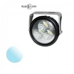 Lampa Led Offroad okrągła KW118 3x 1W 12-24V Homologacja biała zimna