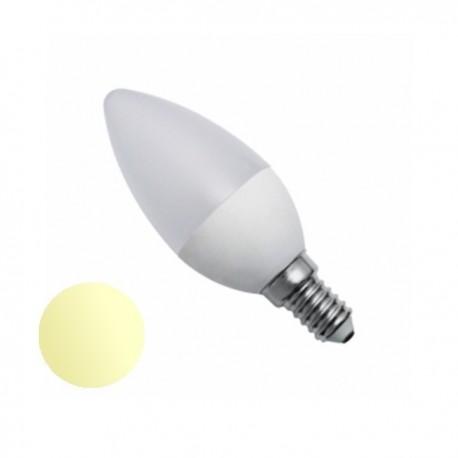 Żarówka Led E14 7W Świeczka LL 230V biała ciepła