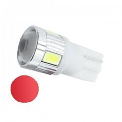 Żarówka Led R10 6x SMD 5730 12V czerwona