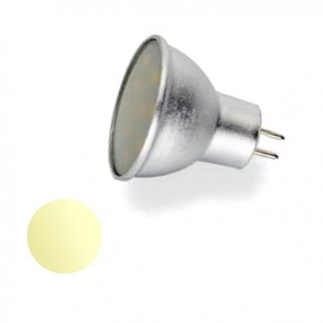 Żarówka Led MR11 3W 18x SMD 2835 12V biała ciepła