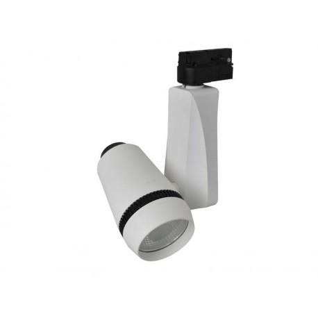 Projektor LED Barato szyna 1 faza 15W biały zimny