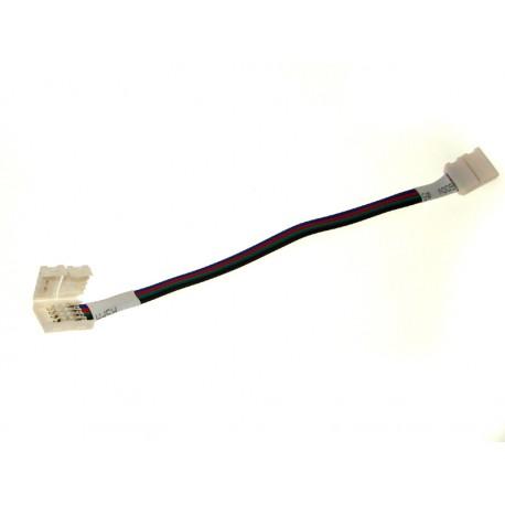 Złącze 4PIN podwójne do taśmy Led RGB 10mm z przewodem
