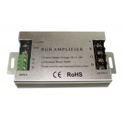 Wzmacniacz sygnału RGB 30A 12V