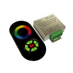 Sterownik RGB radiowy seria Touch z przyciskami czarny 12V