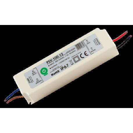 Zasilacz hermetyczny 100W 8,5A IP67 12V