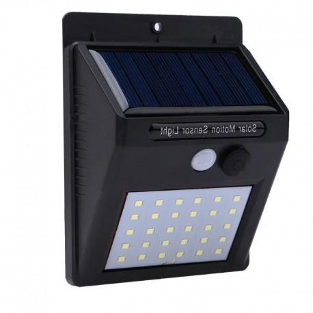 Lampa LED solarna 20xSMD czujnik ruchu i zmierzchu